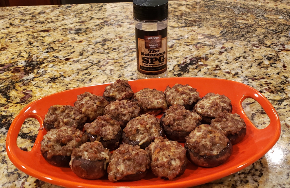 Read more about the article Stuffed Mushrooms